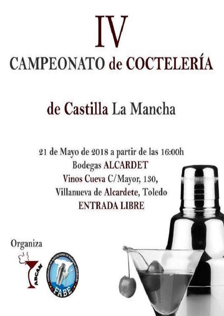 <strong><b>Bodegas Alcardet</b></strong> celebrará <b>el </b><strong><b>IV campeonato </b></strong><strong>de Coctelería de </strong><strong><b>Castilla-La Mancha</b></strong>.